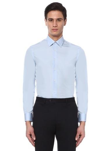 Uzun Kollu Klasik Gömlek-Beymen Collection